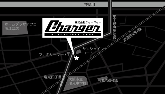 CHARGER地図