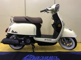 2-05 PGO JBuBu125 新車 ホワイトリボンタイヤ付