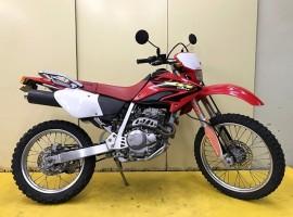3-02 XR250 2003年式 リアキャリア付