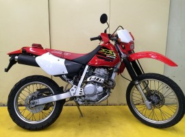 3-17 XR250 前後新品タイヤ付